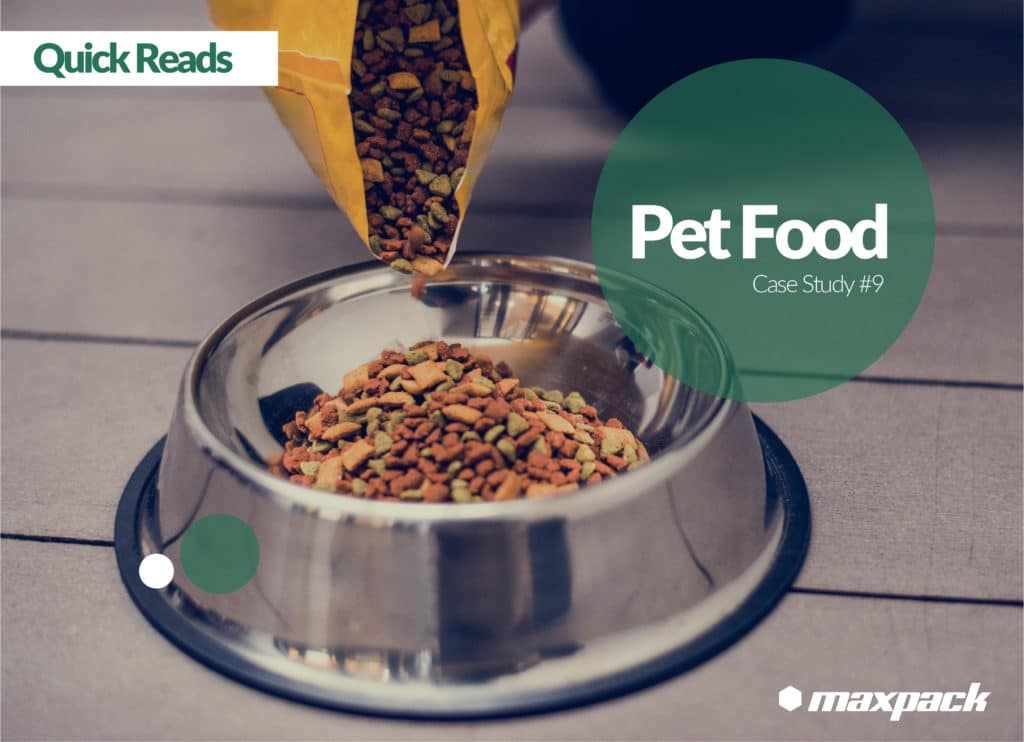 Case Study #9: Complete Line with Integrated VFFS Packaging and Bailing Machines for Market Leading Pet Food Company