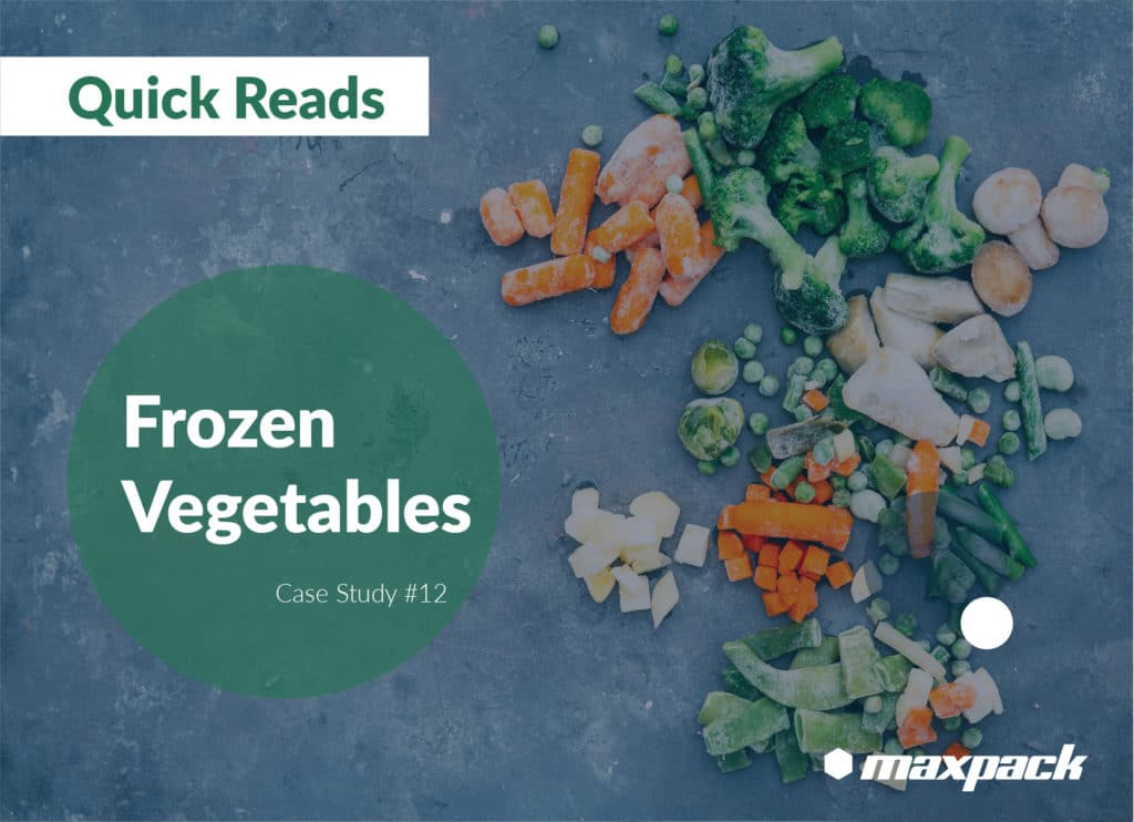 Case Study #12: Maxpack Horizontal Fill and Seal MFSG Series with Maxpack Multihead Weigher to pack Frozen Vegetables in Pre-formed Zipper Doypack bags